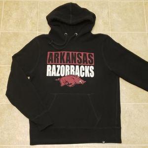'47 | Arkansas Razorbacks Hoodie | Size Large